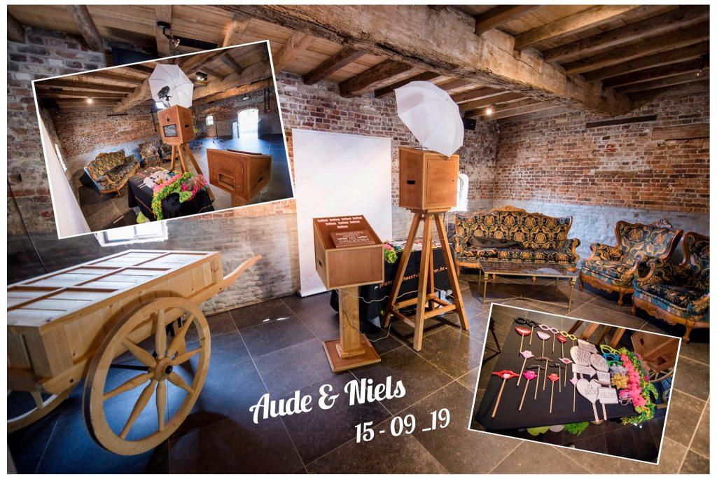 Photobooth @ Steenovenhoeve Tielt